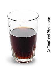 coke glass isolated on white background