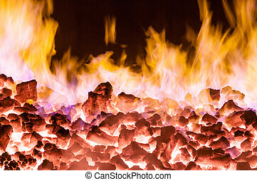 cokes, burning, oven