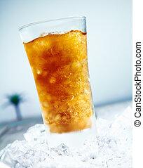 cokes, iced