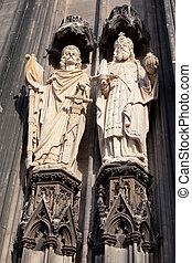 colónia, detalhe, cathedral-