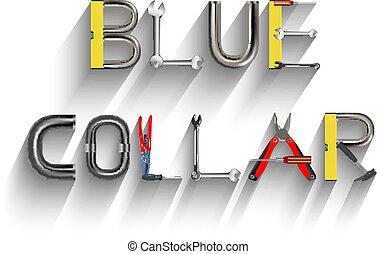 col bleu