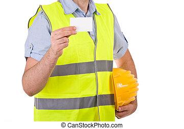 col bleu, worker.