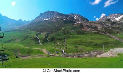 Col De Tourmalet, France - Graded and stabilized version....