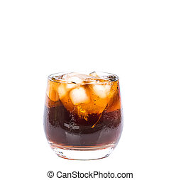 Cola Drink With Ice