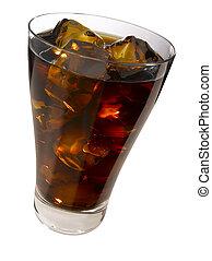 Cola on the rocks