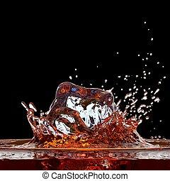 Cola ( or whisky ) splash