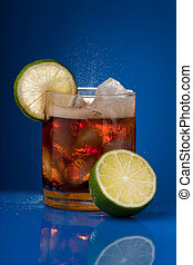 Cola with lime