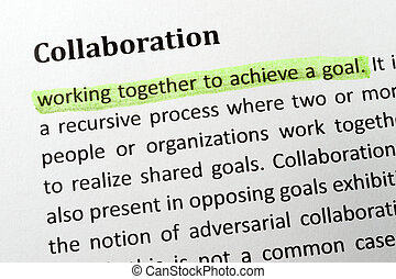 colaboração