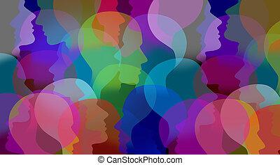 colaboração, social