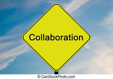 colaboración, muestra del camino