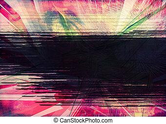 colagem, abstratos