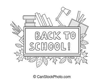 colagem, materiais, escola
