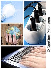 colagem, tehnology