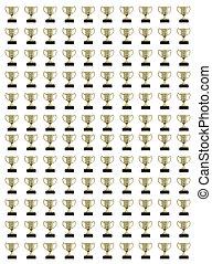 colagem, trophys