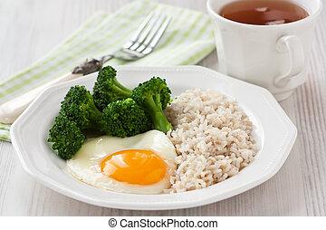 colazione sana, uovo