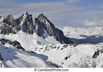 colbricon,  malga,  ces,  Dolomites