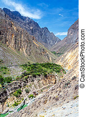 Colca Canyon Bridge