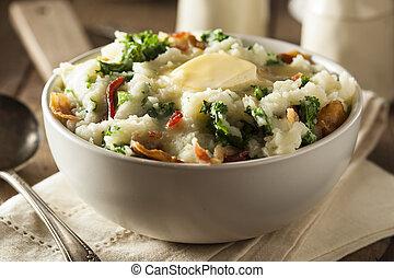 colcannon, irlandese, casalingo, patata