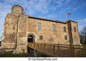 Colchester Castle in Essex