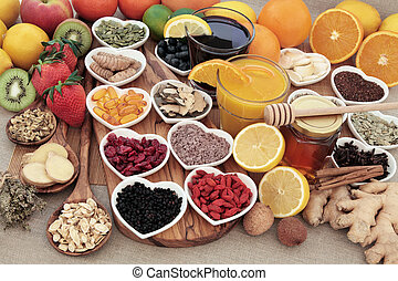 Cold and Flu Remedy Food