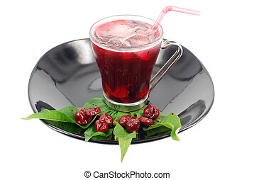 cold cherry juice