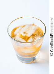 cold drink with ice
