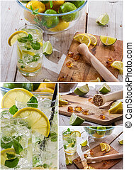 Cold drinks for summer