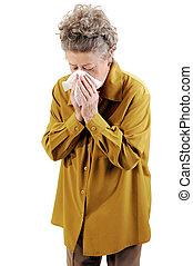 cold., femme aînée