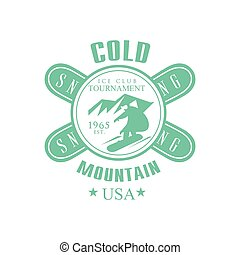 Cold Mointain Club Emblem Design