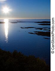 Cold Ocean Landscape
