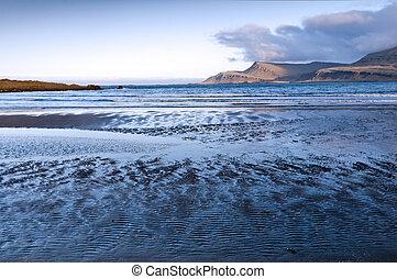 Cold sea, Iceland