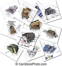 colección, arquitectura
