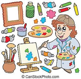 colección, artista