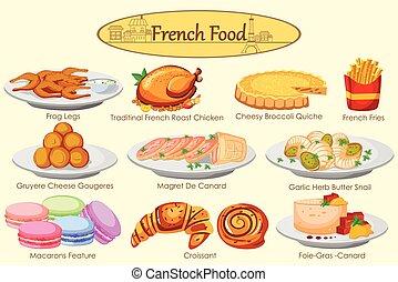 Tradicional cena colecci n franc s comidas for Cena en frances