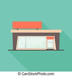 colección, icon., comercial, tienda, objeto, aislado, símbolo, acción, emporio, web.