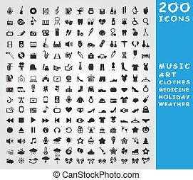 colección, iconos