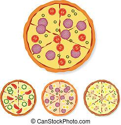 colección, pizza