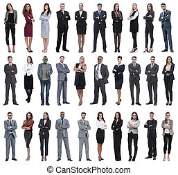 Colection of full length people