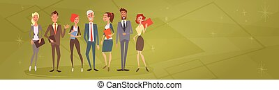 colegas, grupo, pessoas negócio, human, equipe, recursos
