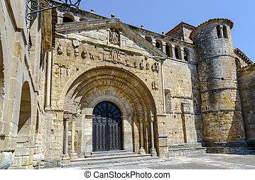 Colegiata of Santa Juliana of Santillana del Mar Spain