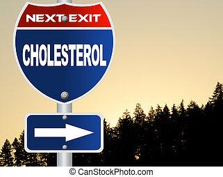 colesterol, sinal estrada