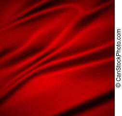 colgadura, plano de fondo, hermoso, rojo, silk., ilustración...