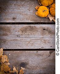 colheita, fundo, outono