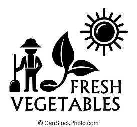 colheita, símbolo, agricultura