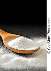 colherada, bicarbonate