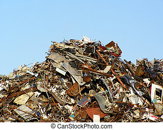colina, basura