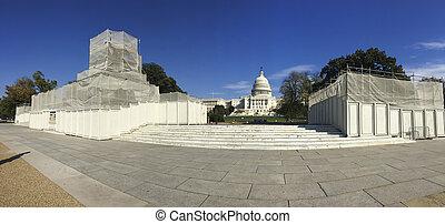 colina de capitol, washington, cc