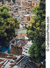 colinas, medellin, casas, comuna, colombia, 13