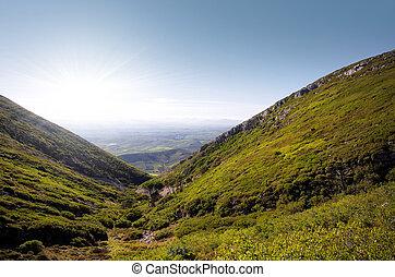 colinas, paisaje