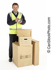 colis, courrier, livrer